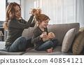 hair, play, home 40854121