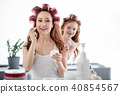 mother, young, daughter 40854567