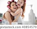 daughter, laugh, home 40854570