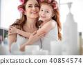 mom, hug, happy 40854574