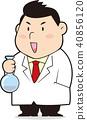 科学家用烧瓶 40856120