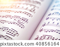 Score sheet music book 40856164