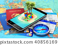 Travel, tourism, holidays and vacations concept 40856169