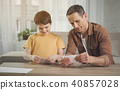 origami, family, father 40857028
