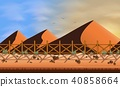 landscape desert background 40858664