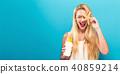 女人 女性 防晒油 40859214