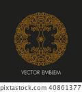 Vector logo design template  40861377