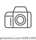 圖標 Icon 照相機 40861468