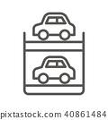 圖標 Icon 停車結構 40861484