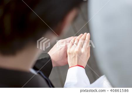 日本禮服結婚戒指 40861586