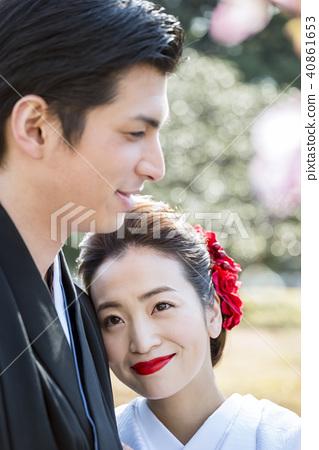 戶外 婚禮 結婚 40861653