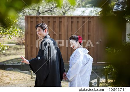 日式 户外 婚礼 40861714