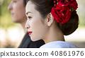 日本服飾婚禮新娘 40861976