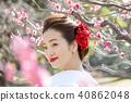 日本服飾婚禮新娘 40862048