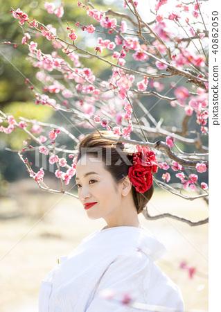 日本服飾婚禮新娘 40862050