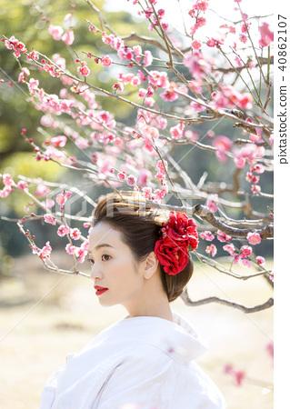 日本服飾婚禮新娘 40862107