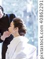 Japanese dress wedding hair makeup 40862291
