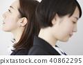 female, lady, woman 40862295