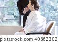 Japanese dress wedding hair makeup 40862302