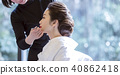 Japanese dress wedding hair makeup 40862418