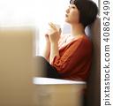 咖啡馆放松 40862499