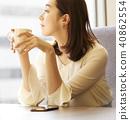 咖啡館放鬆 40862554