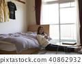 獨自生活的年輕女子 40862932