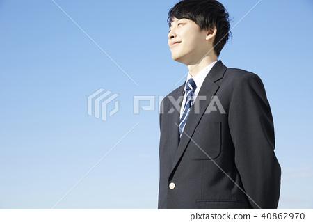 男高中生肖像 40862970