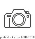 圖標 Icon 照相機 40863718