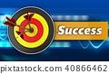 3d, target, success 40866462
