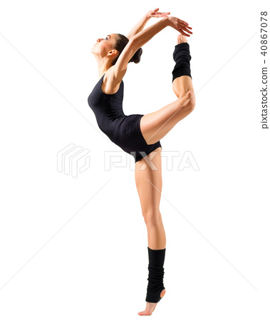 Ballerina (isolated on white ver) 40867078