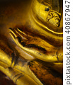 Image of buddha hand in Wat Pho 40867947