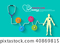 Health care, stethoscope,  40869815