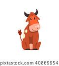 cow, cartoon, character 40869954