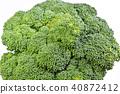 브로콜리, 야채, 채소 40872412