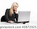 woman, desk, businesswoman 40872925