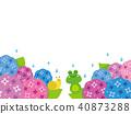 繡球花 雨季 梅雨 40873288