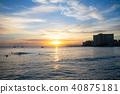 하와이, 와이키키, 바다 40875181