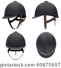Set of Classic Jockey horseride helmets 40875607