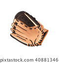 leather baseball glove 40881346