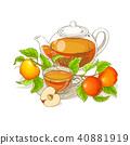 蘋果 水果 開花 40881919