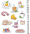 Breakfast Illustrations 40883770