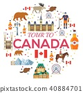 Country Canada travel vacation guide of goods 40884701