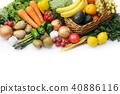 水果 蔬菜 裝配 40886116