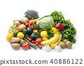 水果 蔬菜 裝配 40886122