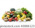 蔬菜和水果的集合 40886123