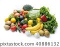 水果 蔬菜 裝配 40886132