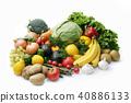 水果 蔬菜 裝配 40886133
