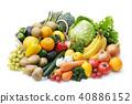 水果 蔬菜 裝配 40886152