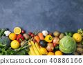 水果 蔬菜 裝配 40886166